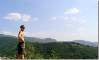 Up into Bosnia