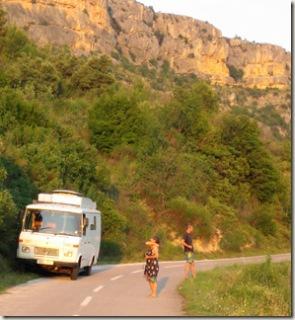 Road to Roski Slap (photo Sally)